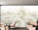 Fotobehang Muurposter Wedding Roses 400x280 cm_