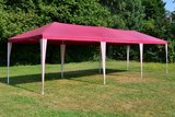 Partytent Rood Wit 3x9 M_